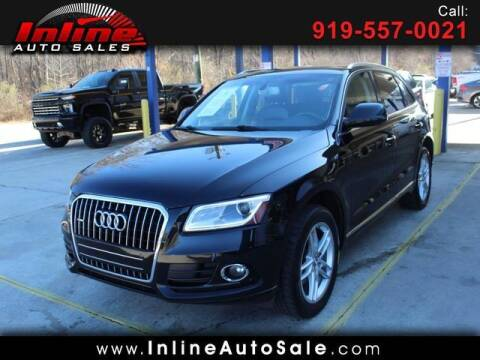 2015 Audi Q5 for sale at Inline Auto Sales in Fuquay Varina NC