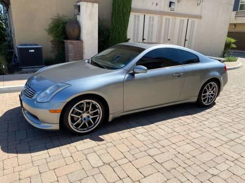 2005 Infiniti G35 for sale at California Motor Cars in Covina CA