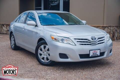 2010 Toyota Camry for sale at Mcandrew Motors in Arlington TX
