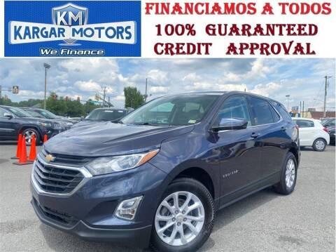 2019 Chevrolet Equinox for sale at Kargar Motors of Manassas in Manassas VA