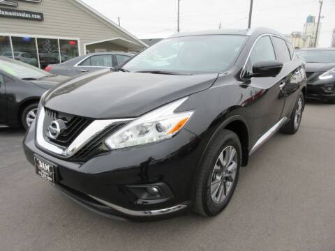2017 Nissan Murano for sale at Dam Auto Sales in Sioux City IA