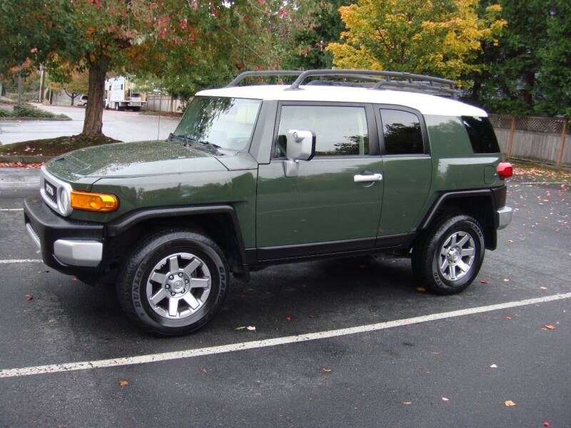 2014 Toyota FJ Cruiser for sale at Western Auto Brokers in Lynnwood WA