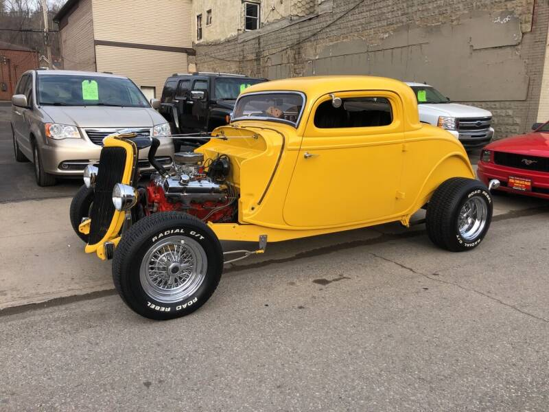 1934 Ford Tudor for sale at STEEL TOWN PRE OWNED AUTO SALES in Weirton WV