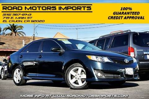 2013 Toyota Camry for sale at Road Motors Imports in El Cajon CA