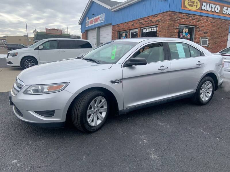 2011 Ford Taurus for sale at GENE AND TONYS DEMOTTE AUTO SALES in Demotte IN
