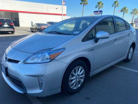 2015 Toyota Prius Plug-in Hybrid for sale at CENTURY MOTORS - Fresno in Fresno CA