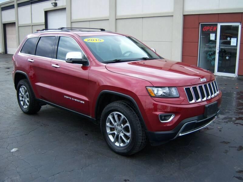 2015 Jeep Grand Cherokee for sale at Blatners Auto Inc in North Tonawanda NY