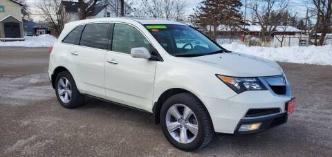 2013 Acura MDX for sale at Dussault Auto Sales in Saint Albans VT