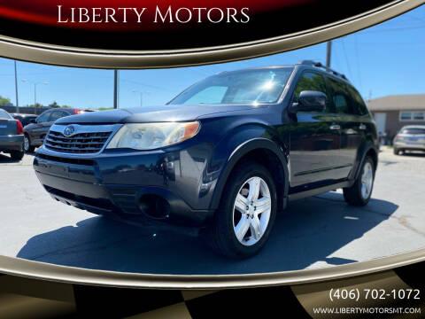 2010 Subaru Forester for sale at Liberty Motors in Billings MT