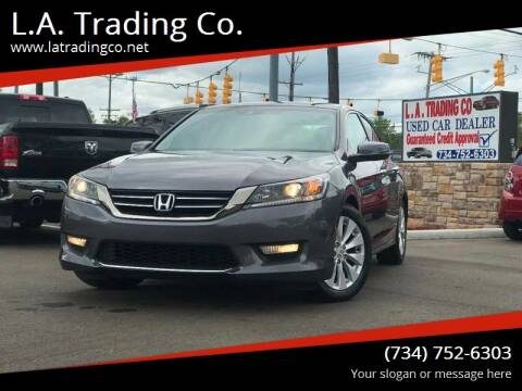 2013 Honda Accord for sale at L.A. Trading Co. Woodhaven in Woodhaven MI