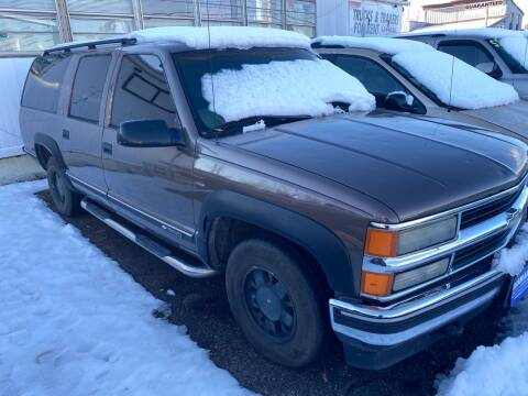 1998 Chevrolet Suburban for sale at Classic Heaven Used Cars & Service in Brimfield MA