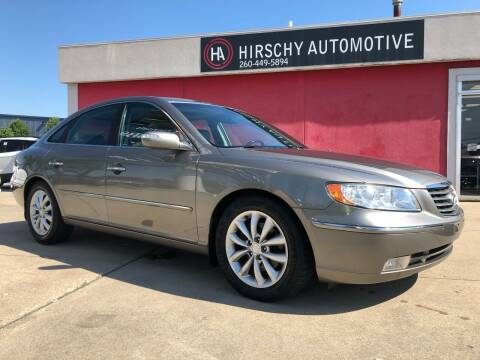 2008 Hyundai Azera for sale at Hirschy Automotive in Fort Wayne IN