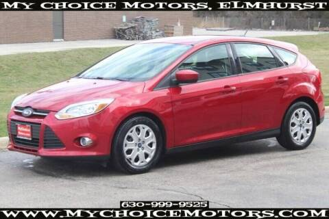 2012 Ford Focus for sale at My Choice Motors Elmhurst in Elmhurst IL