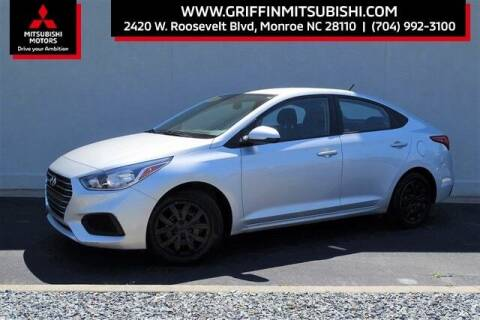 2019 Hyundai Accent for sale at Griffin Mitsubishi in Monroe NC