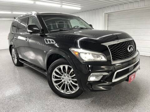2015 Infiniti QX80 for sale at Hi-Way Auto Sales in Pease MN