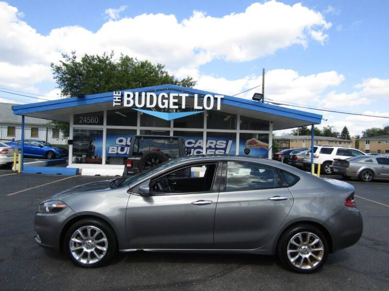 2013 Dodge Dart for sale at THE BUDGET LOT in Detroit MI