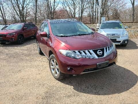 2010 Nissan Murano for sale at BETTER BUYS AUTO INC in East Windsor CT