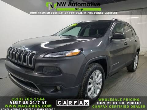 2017 Jeep Cherokee for sale at NW Automotive Group in Cincinnati OH