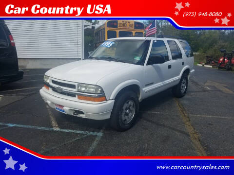 2002 Chevrolet Blazer for sale at Car Country USA in Augusta NJ
