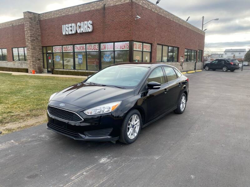 2016 Ford Focus for sale at My Town Auto Sales in Madison Heights MI