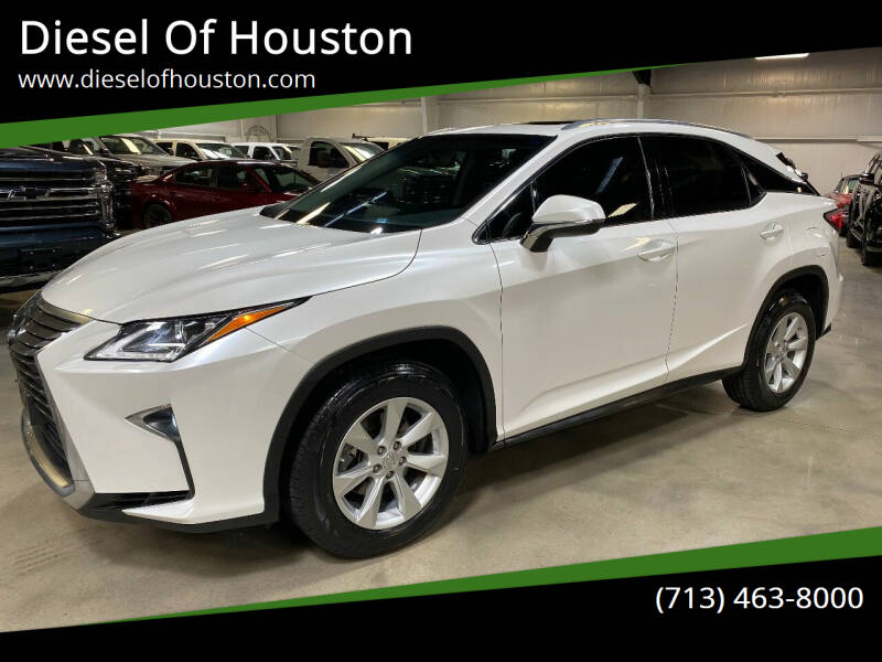 2016 Lexus RX 350 for sale at Diesel Of Houston in Houston TX