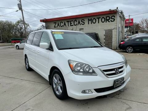 2006 Honda Odyssey for sale at Zacatecas Motors Corp in Des Moines IA