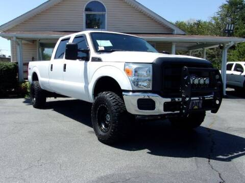 2016 Ford F-250 Super Duty for sale at Adams Auto Group Inc. in Charlotte NC