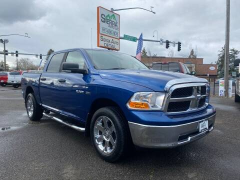 2009 Dodge Ram Pickup 1500 for sale at SIERRA AUTO LLC in Salem OR