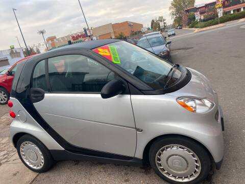 2012 Smart fortwo for sale at Sanaa Auto Sales LLC in Denver CO
