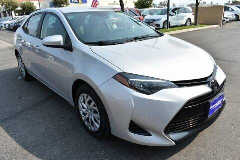 2018 Toyota Corolla for sale at DIAMOND VALLEY HONDA in Hemet CA