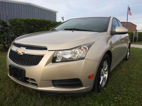 2012 Chevrolet Cruze for sale at Affordable Auto in Ocoee FL