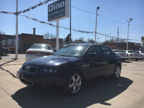 2005 Audi A4 for sale at Dino Auto Sales in Omaha NE