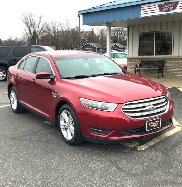 2015 Ford Taurus for sale at Clapper MotorCars in Janesville WI
