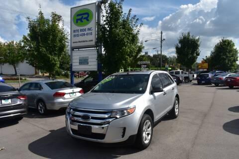 2013 Ford Edge for sale at Rite Ride Inc in Murfreesboro TN
