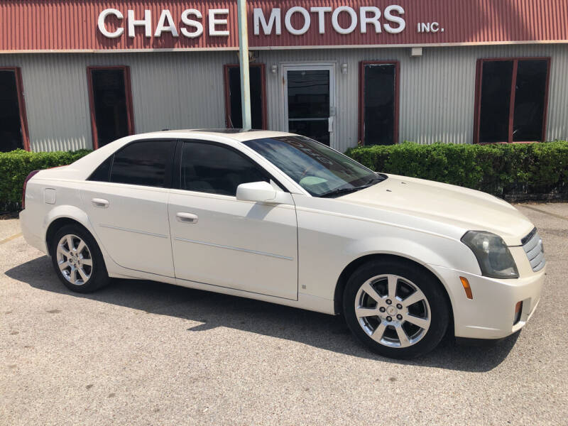 2007 Cadillac CTS for sale at Chase Motors Inc in Stafford TX
