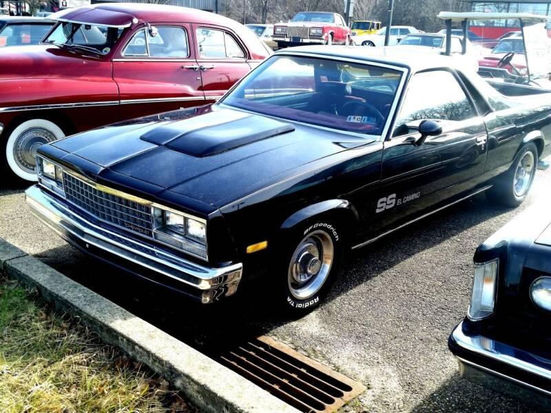 1982 Chevrolet El Camino for sale at Black Tie Classics in Stratford NJ