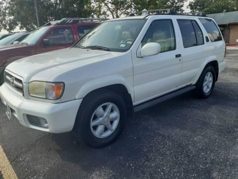 2000 Nissan Pathfinder for sale at John 3:16 Motors in San Antonio TX