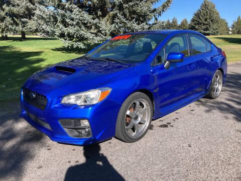 2015 Subaru WRX for sale at BELOW BOOK AUTO SALES in Idaho Falls ID