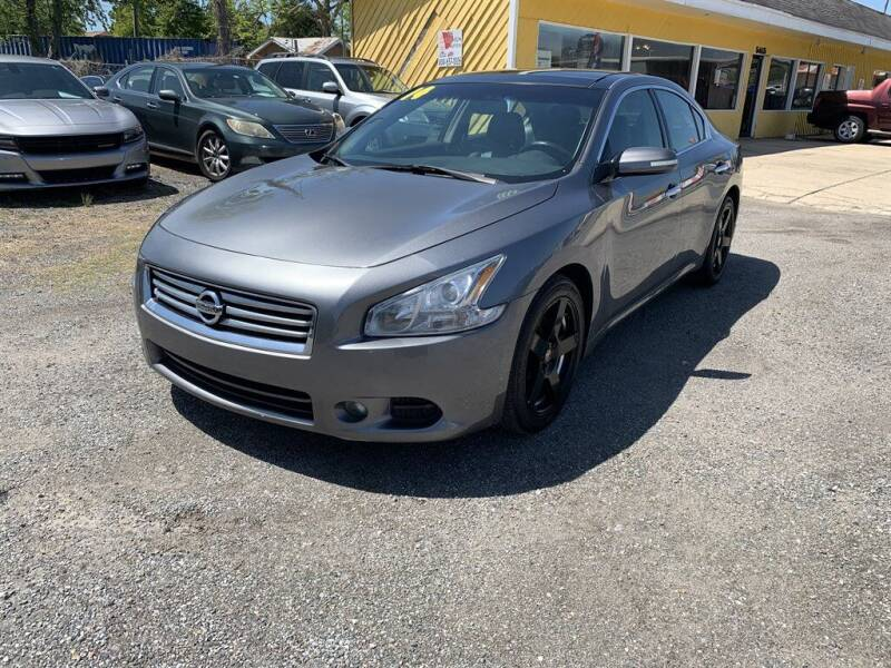 2014 Nissan Maxima for sale at THE COLISEUM MOTORS in Pensacola FL