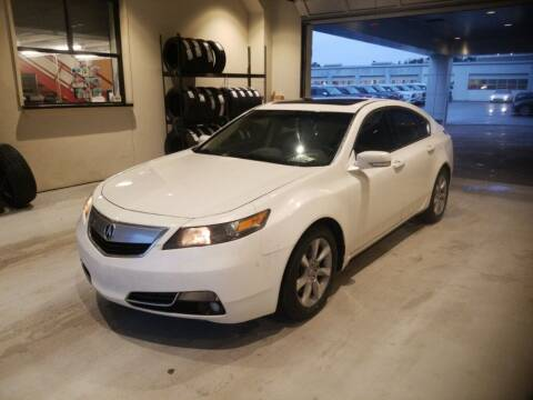 2012 Acura TL for sale at JOE BULLARD USED CARS in Mobile AL