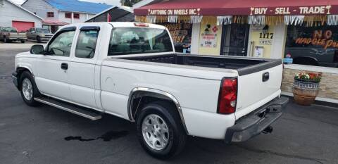 2007 Chevrolet Silverado 1500 Classic for sale at ANYTHING ON WHEELS INC in Deland FL