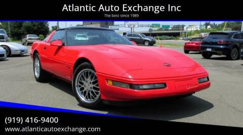 1995 Chevrolet Corvette for sale at Atlantic Auto Exchange Inc in Durham NC