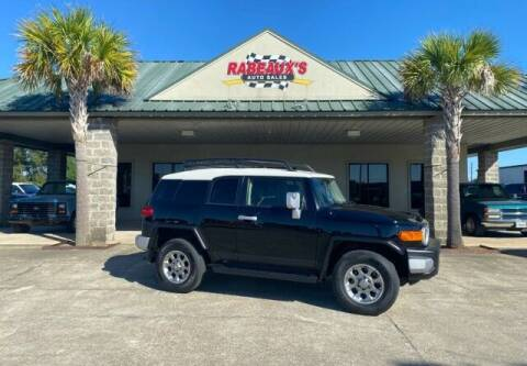 2013 Toyota FJ Cruiser for sale at Rabeaux's Auto Sales in Lafayette LA