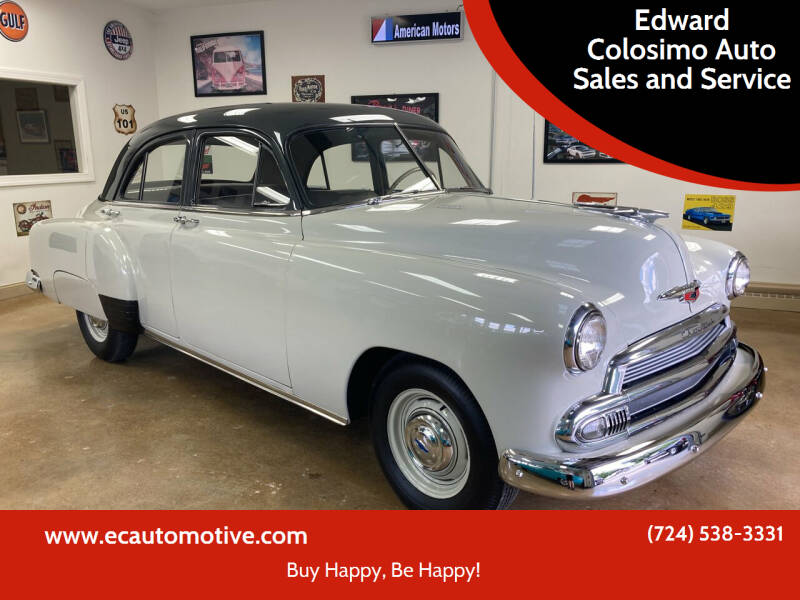 1951 Chevrolet Styleline for sale at Edward Colosimo Auto Sales and Service in Evans City PA