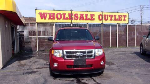 2012 Ford Escape for sale at LONG BROTHERS CAR COMPANY in Cleveland OH