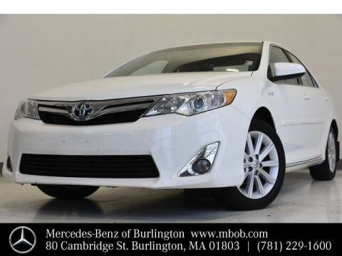 2013 Toyota Camry Hybrid for sale at Mercedes Benz of Burlington in Burlington MA