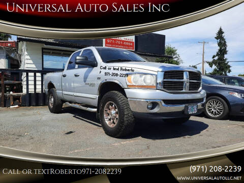 2006 Dodge Ram Pickup 1500 for sale at Universal Auto Sales Inc in Salem OR