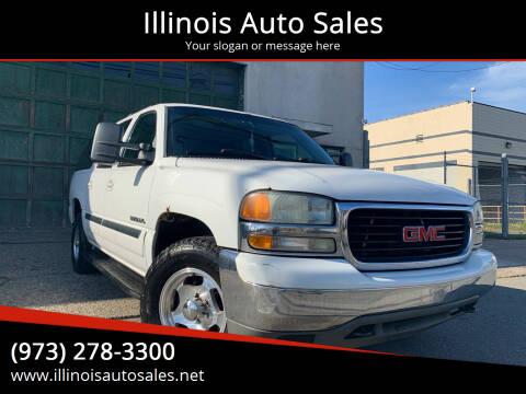2003 GMC Yukon XL for sale at Illinois Auto Sales in Paterson NJ