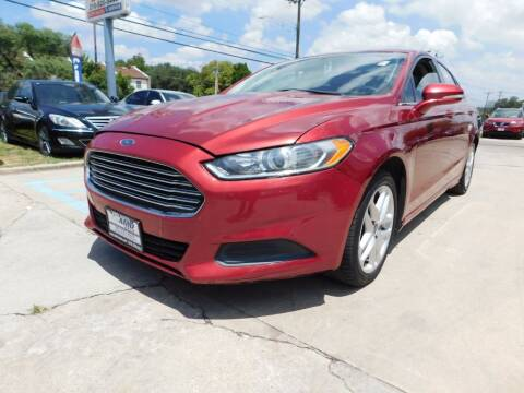 2013 Ford Fusion for sale at AMD AUTO in San Antonio TX