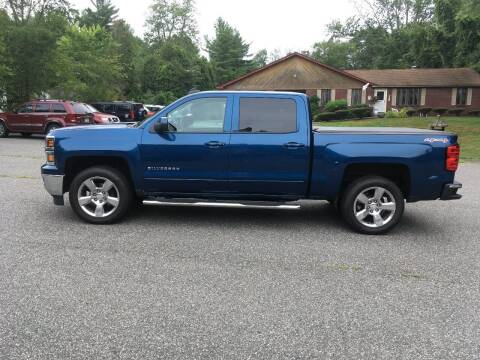2015 Chevrolet Silverado 1500 for sale at Lou Rivers Used Cars in Palmer MA